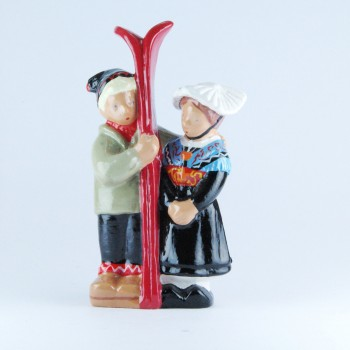 Savoie (Couple ski rouge)