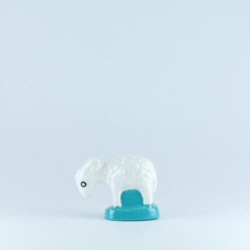 Mouton blanc (tête basse)