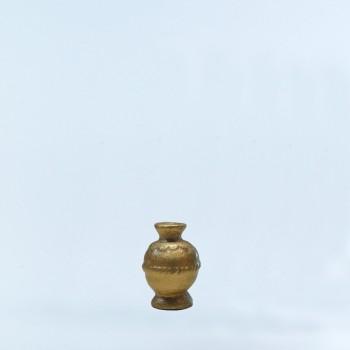 Vase doré
